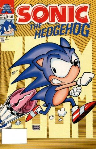 Sonic The Hedgehog Miniseries 002 (April 1993)