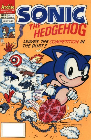 Sonic the Hedgehog 008 (March 1994)