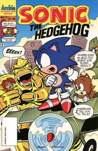 Sonic the Hedgehog 017 (December 1994)