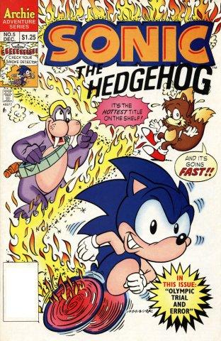 Sonic the Hedgehog 005 (December 1993)