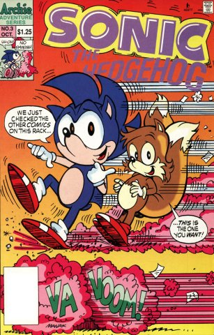 Sonic the Hedgehog 003 (October 1993)