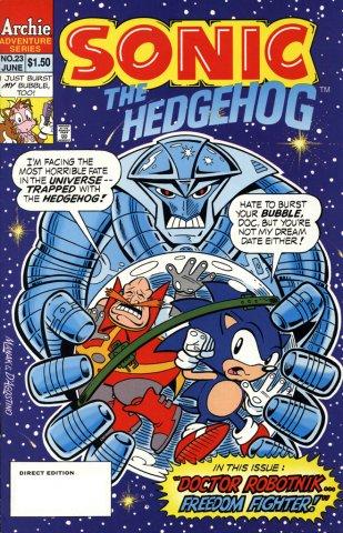 Sonic the Hedgehog 023 (June 1995)