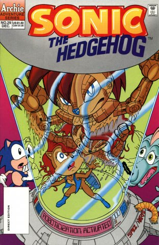 Sonic The Hedgehog 029 (December 1995)