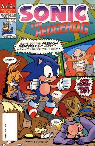 Sonic the Hedgehog 028 (November 1995)