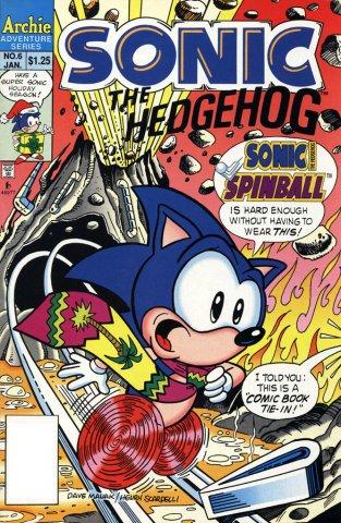 Sonic the Hedgehog 006 (January 1994)