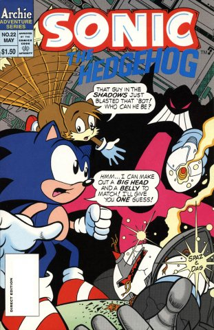 Sonic the Hedgehog 022 (May 1995)