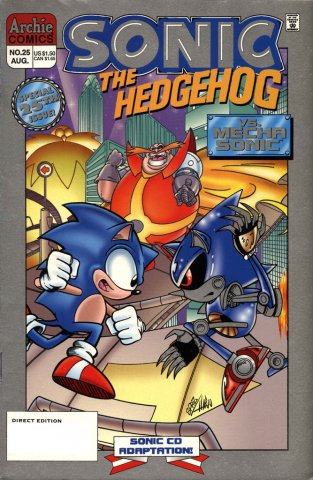 Sonic the Hedgehog 025 (August 1995)