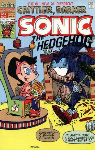 Sonic the Hedgehog 004 (November 1993)