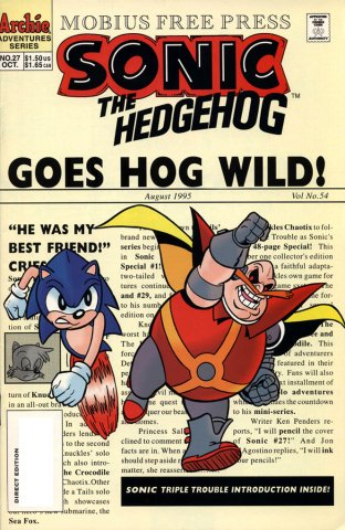 Sonic the Hedgehog 027 (October 1995)