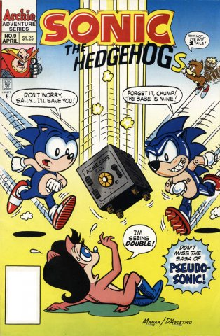 Sonic the Hedgehog 009 (April 1994)