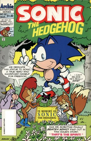 Sonic the Hedgehog 020 (March 1995)
