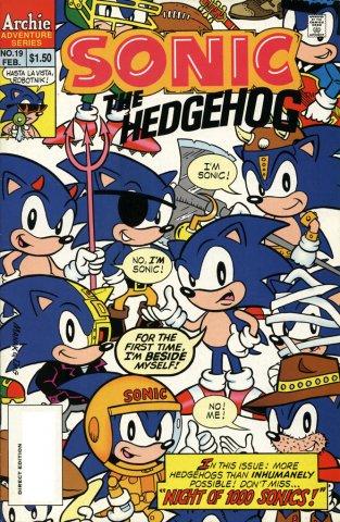 Sonic the Hedgehog 019 (February 1995)