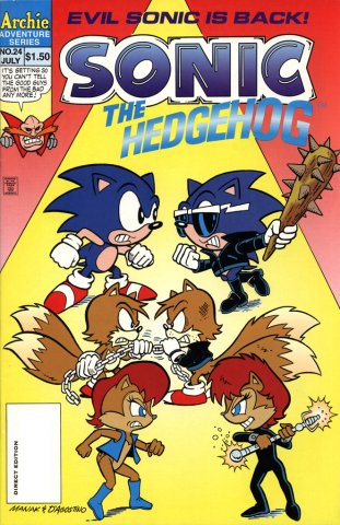 Sonic the Hedgehog 024 (July 1995)