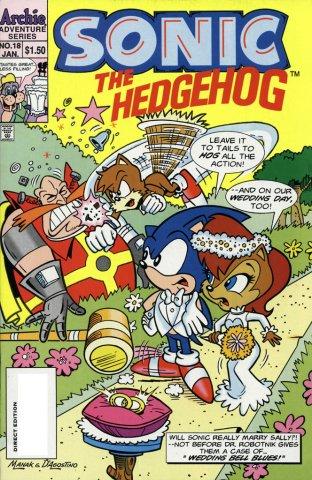 Sonic the Hedgehog 018 (January 1995)