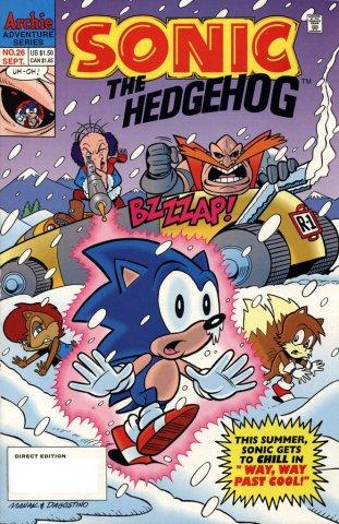 Sonic the Hedgehog 026 (September 1995)