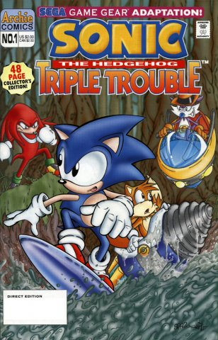 Sonic the Hedgehog: Triple Trouble (October 1995)