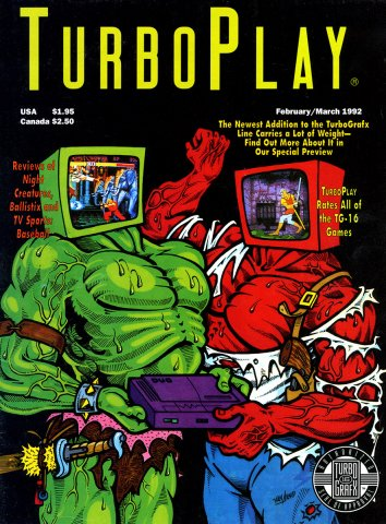 TurboPlay Issue 011 February-March 1992