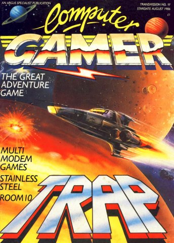 Computer Gamer Issue 17 August 1986