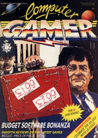 Computer Gamer Issue 16 July 1986