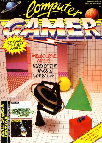 Computer Gamer Issue 11 February 1986