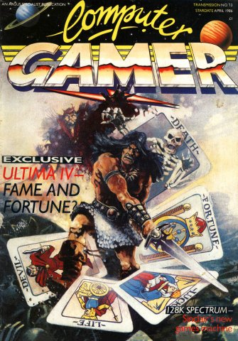 Computer Gamer Issue 13 April 1986