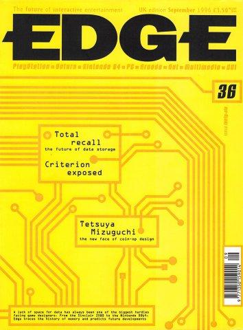 Edge 036 (September 1996)