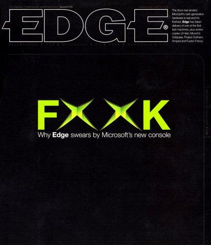 Edge 105 (Christmas 2001)