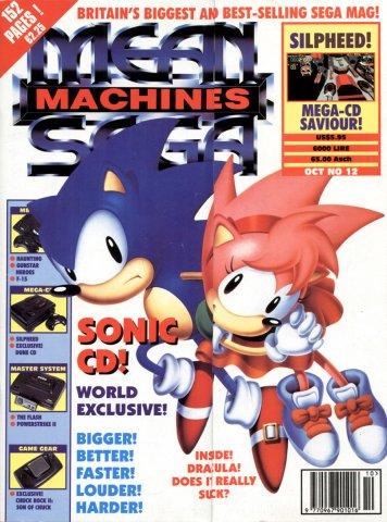 Mean Machines Sega Issue 12 (October 1993)