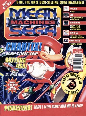 Mean Machines Sega Issue 32 (June 1995)
