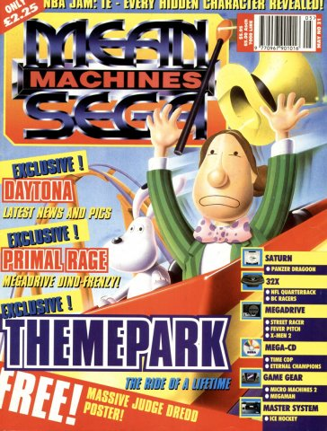 Mean Machines Sega Issue 31 (May 1995)