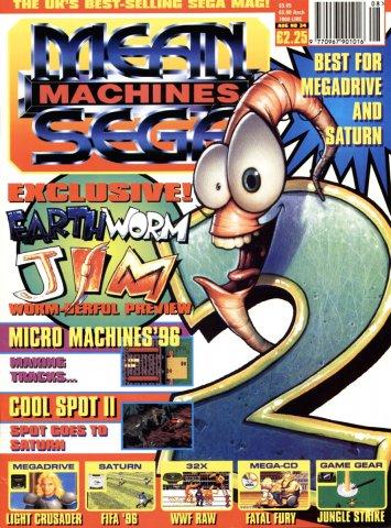 Mean Machines Sega Issue 34 (August 1995)