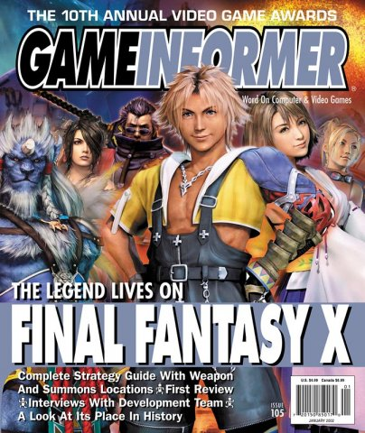 Game Informer Issue 105 January 2002