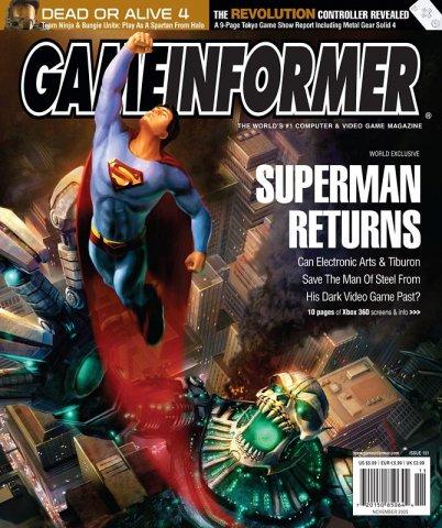 Game Informer Issue 151 November 2005
