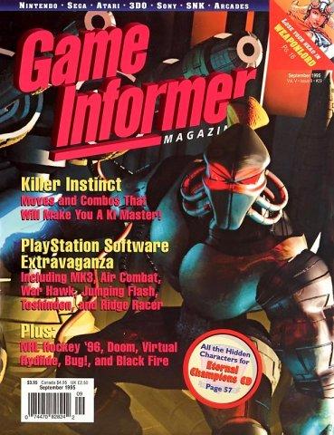 Game Informer Issue 029 September 1995
