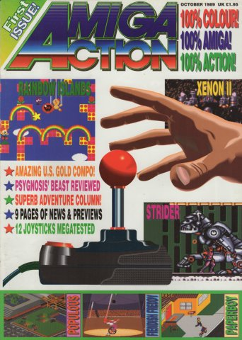 Amiga Action 001 (October 1989)