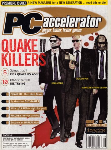 PC Accelerator Issue 001 September 1998