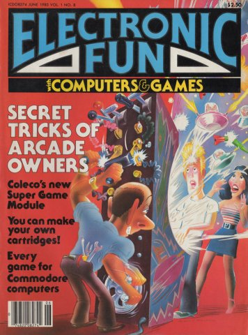 Electronic Fun 008 June 1983