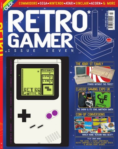 Retro Gamer Issue 007 (November 2004)