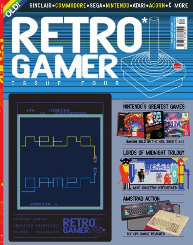 Retro Gamer Issue 004 (July 2004)