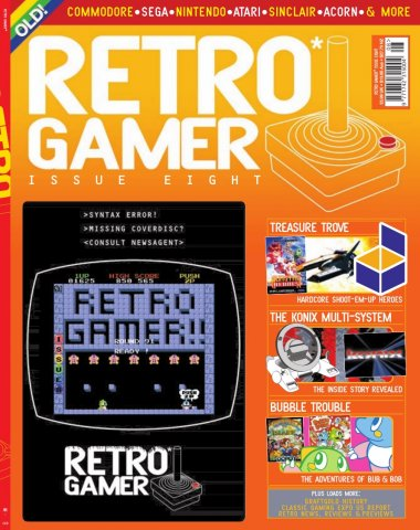 Retro Gamer Issue 008 (December 2004)