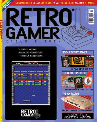 Retro Gamer Issue 011 (March 2005)