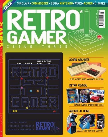 Retro Gamer Issue 003 (May 2004)