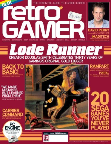 Retro Gamer Issue 111 (January 2013)