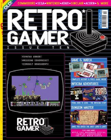 Retro Gamer Issue 010 (February 2005)