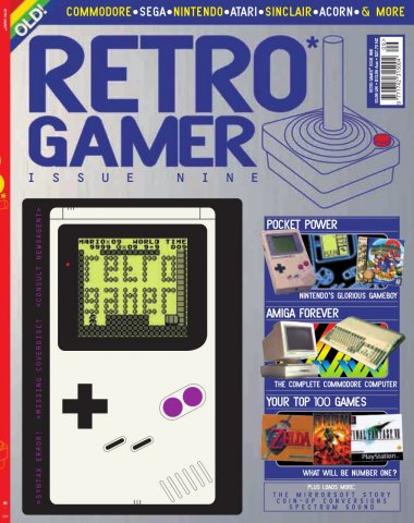 Retro Gamer Issue 009 (January 2005)