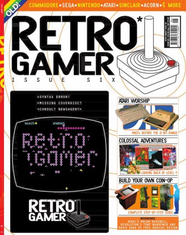 Retro Gamer Issue 006 (October 2004)