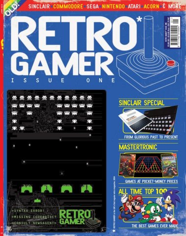 Retro Gamer Issue 001 (January 2004)