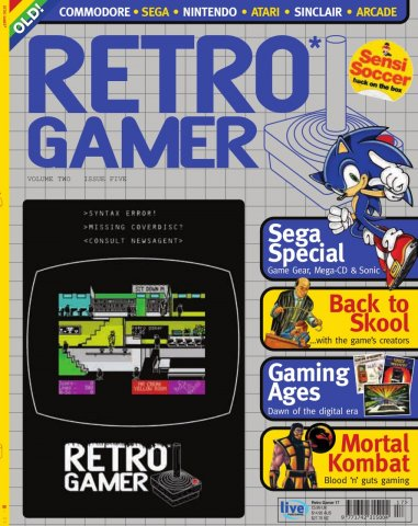 Retro Gamer Issue 017 (September 2005)