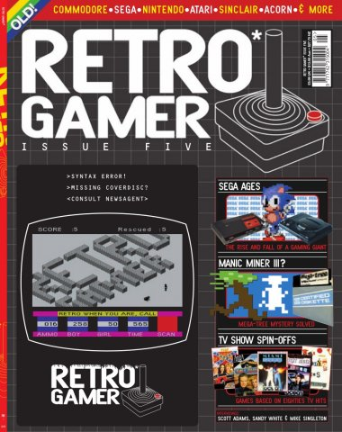 Retro Gamer Issue 005 (September 2004)