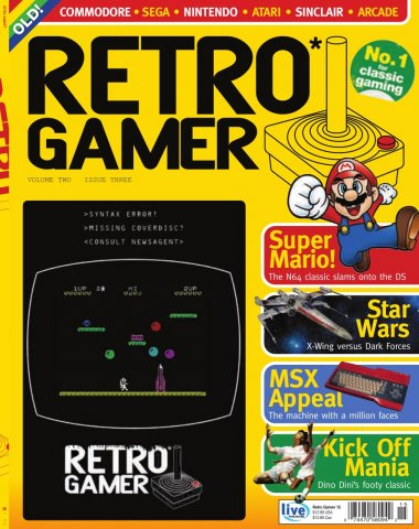 Retro Gamer Issue 015 (July 2005)
